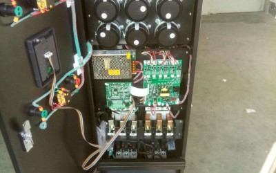 9600系列一拖二工变频一体柜空压机改造